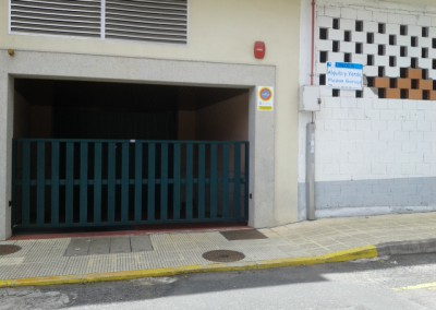 Plazas de Garaje.