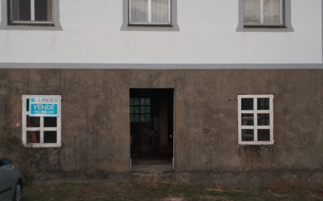 C336 – Bajo para vivienda en Arzúa en el Camino de Santiago.